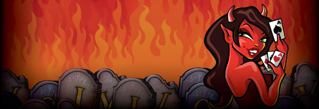 Devils Delight - Det här slot spelet kommer till helvetet